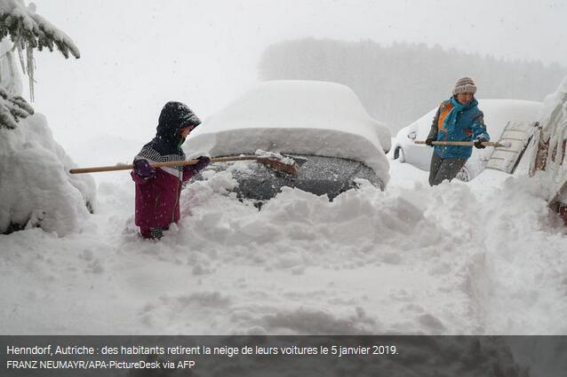 """暴雪大风和洪水""""袭击""""德国 气象局发布多项预警"""