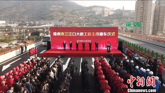 国内首座空腹式钢混组合连续桥梁建成通车