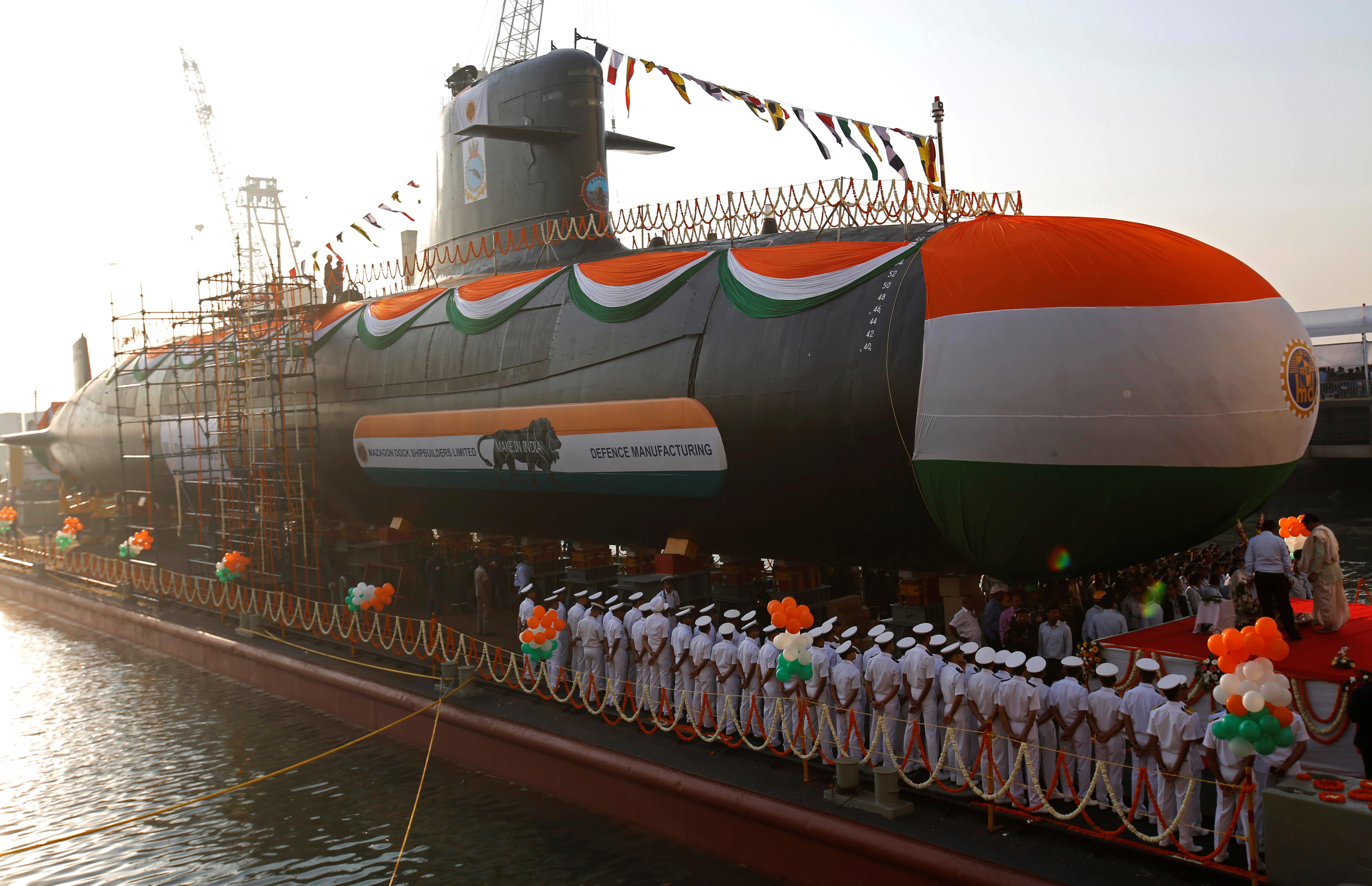 买了潜艇没买配套鱼雷:印度潜艇长期没鱼雷可用