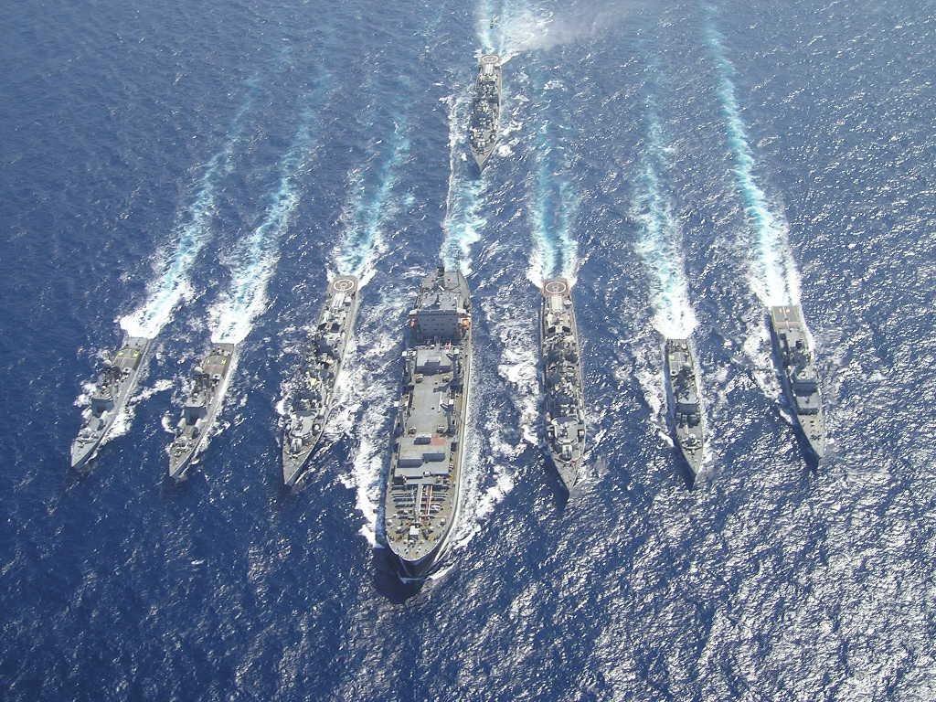 印度举行史上最大规模海上演习 严防渗透袭击