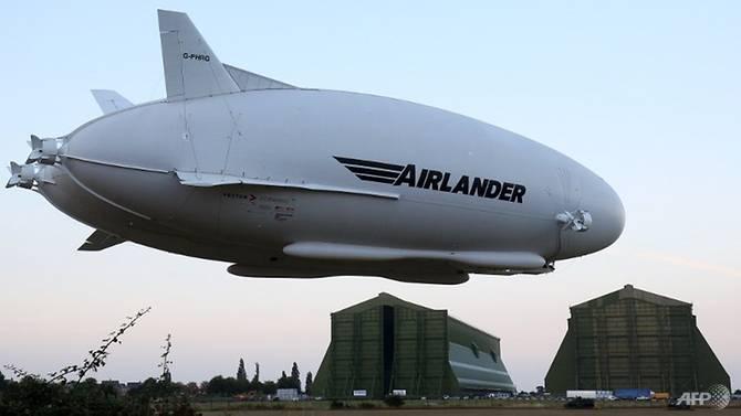 全球最大飞机Airlander 10获商用生产许可