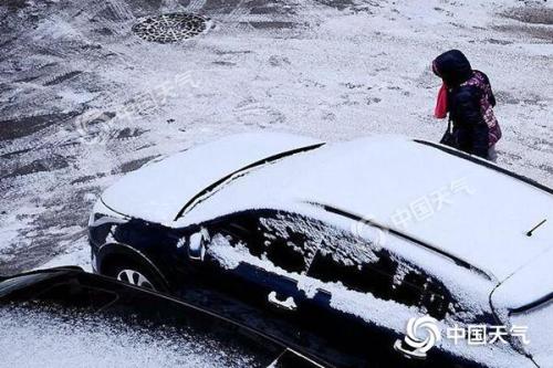 中东部局地降温将超10℃ 南方雨雪持续