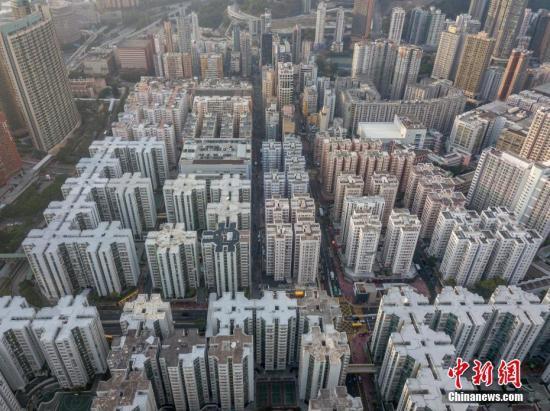 2018年香港新楼盘售出率逾5成 两室单位销量最佳