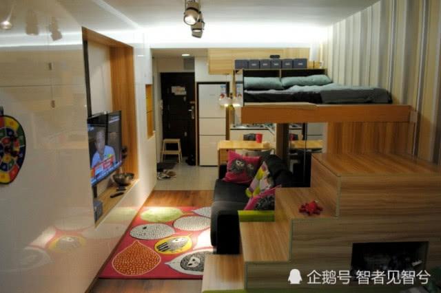 香港14平米最小房屋开卖:比车位还小 5步走完全屋