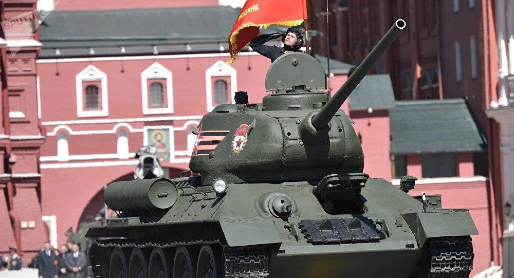 二战坦克一直用到现在:老挝向俄交还30辆T-34
