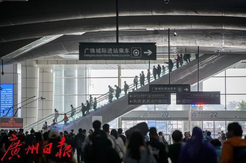 春运进入倒计时,广州各火车站齐出招