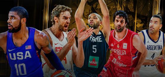 男篮世界杯8种子队出炉 中国避开美西法塞等强敌