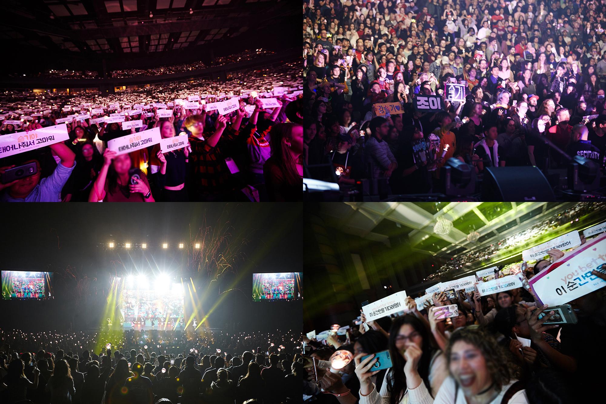 Red Velvet首次北美巡演 令全美著迷