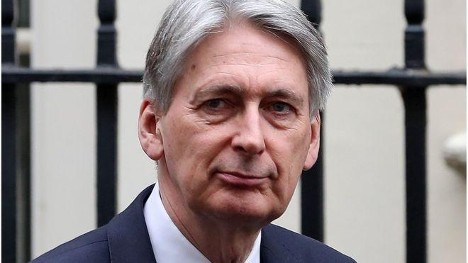 英媒:英财政大臣访华行程被取消 或因防长不当言论