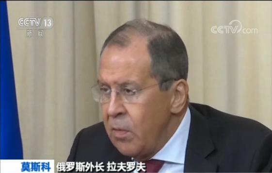 俄外长:反对美提出的涉委决议草案