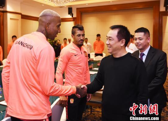 """许家印:广州恒大新赛季瞄准""""双冠王"""""""