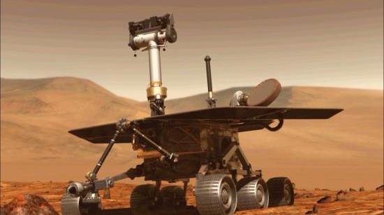 """再见!""""机遇号"""":15年传奇落幕 曾在火星上发现水"""