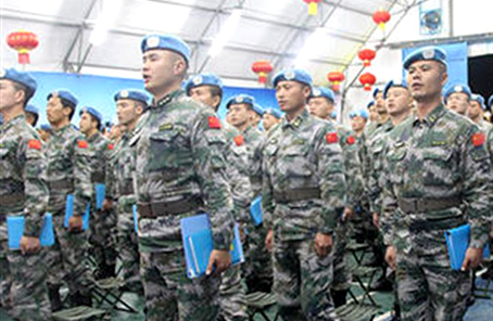 携手共进 逐梦和平——中国赴黎维和部队与华侨华人共庆元宵