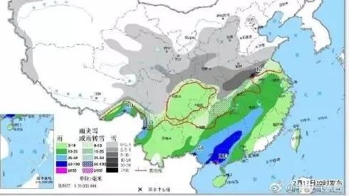 广东下足7天雨!还有一波冷空气……