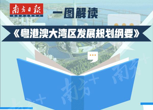 动图|《粤港澳大湾区发展规划纲要》这些重点,你真的get到了吗?