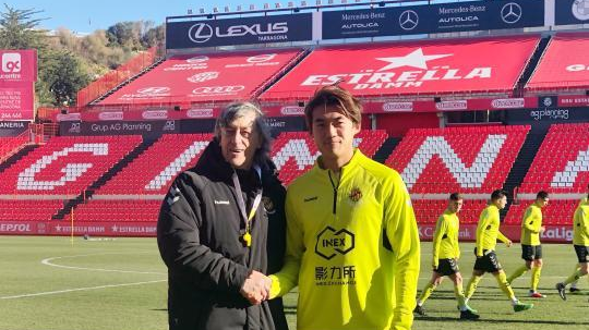 西班牙绿茵场上的中国足球希望