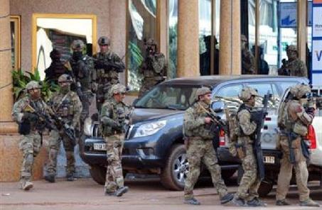 布基纳法索军方打死29名恐怖分子