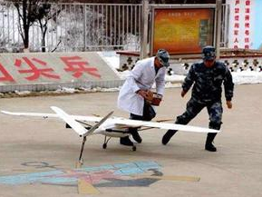 军民携手打通救援空中通道