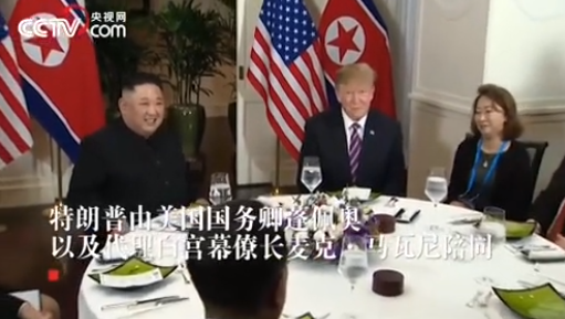 特朗普和金正恩工作午餐吃点啥?鱼、香蕉派和人参茶