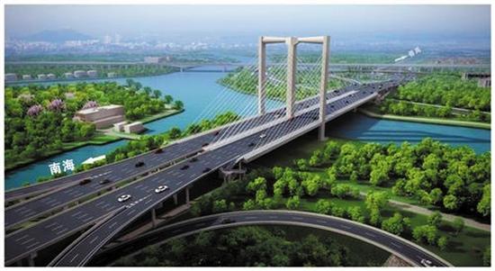 多个交通项目建成后 广佛核心区将实现30分钟互达