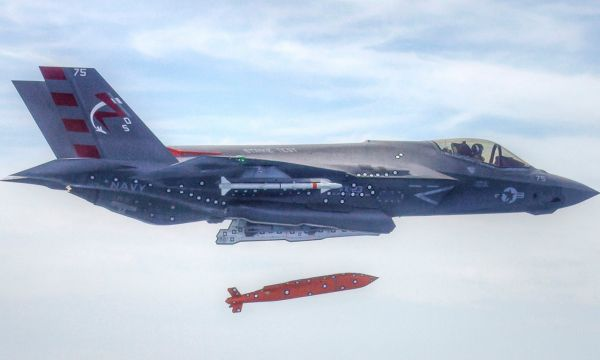 最大射程超550公里!美F35将配新型防区外空地导弹