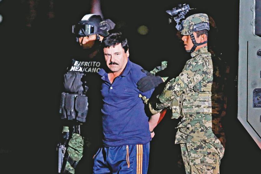 墨西哥大毒枭古兹曼在美国法庭被判有罪 其可能在狱中度余生