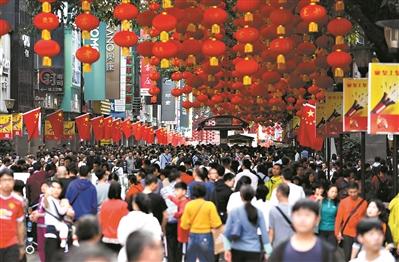 """广州春节旅游:70后80后成""""主力"""""""