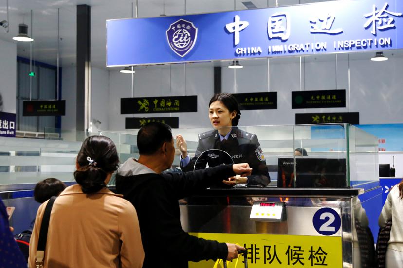 春运返程高峰:广州南沙口岸迎送出入境人员3万余人次