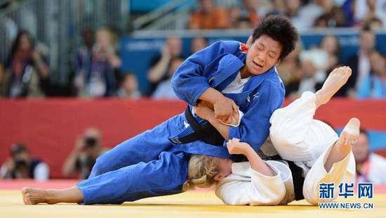 巴黎柔道大满贯赛女子78公斤级 陈飞摘得铜牌