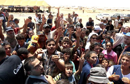 约旦呼吁国际社会在叙难民问题上给予更多援助