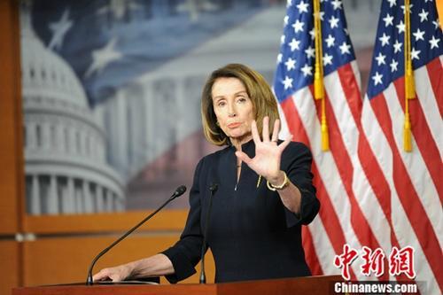 美众院民主党拟提决议 阻止特朗普的紧急状态令