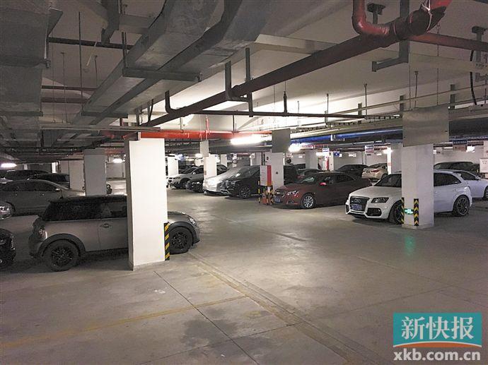广州一小区车位60万一个 停车费将逐渐涨至每月1000元?