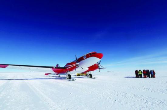 我极地飞机完成关键南极探测 创最大任务难度
