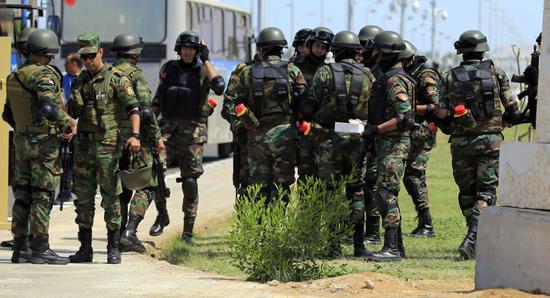 埃及安全部队在反恐行动中打死8名武装人员