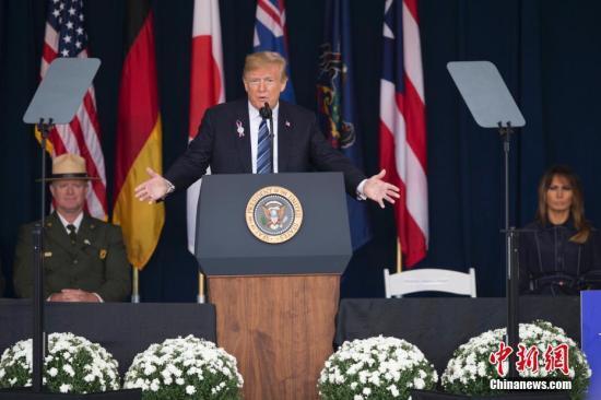 """从政府部分停摆到国家紧急状态:特朗普的""""建墙""""之路"""