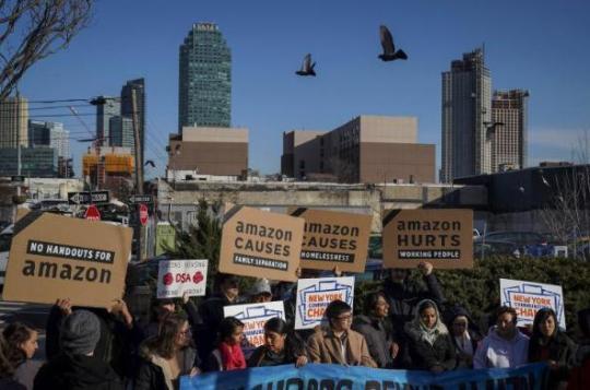 亚马逊取消在纽约设第二总部 将原因归为政治