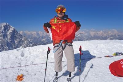 假肢登上珠峰第一人获劳伦斯世界体育奖