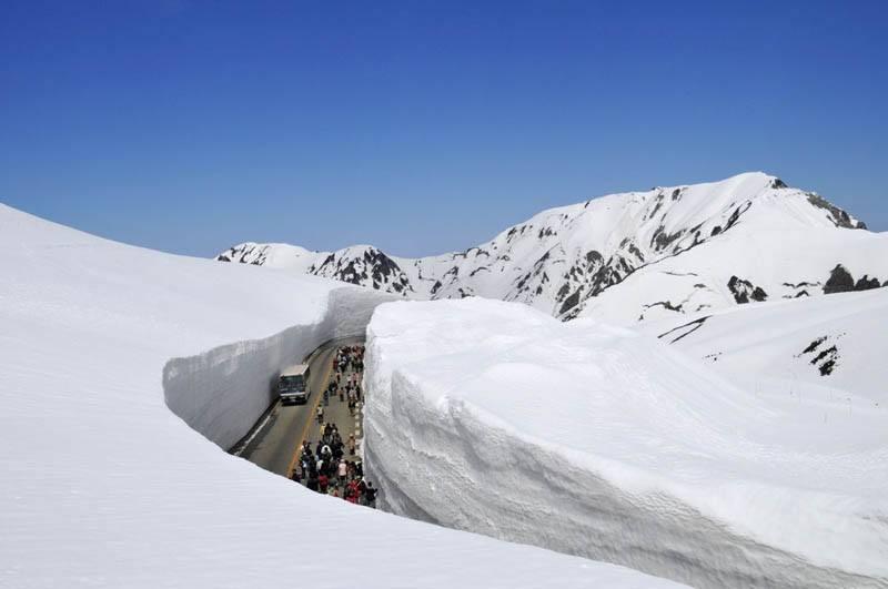 世界上降雪最多的城市之一:日本青森