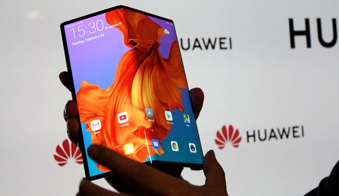 华为发布划时代手机 5G折叠启示未来