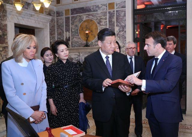 送给习主席的这份国礼,在法国知音很多!