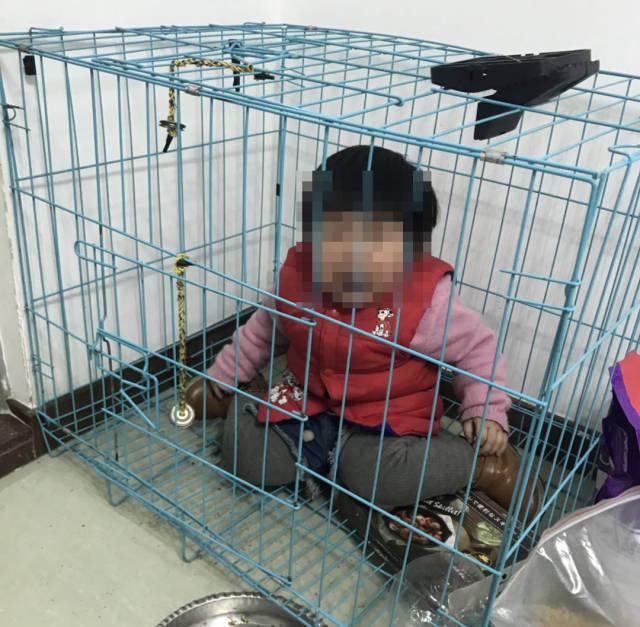 警方通报来了!网传潮州女童被关笼中遭虐 系其父斗气摆拍