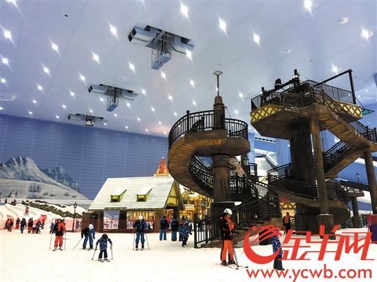 创下多项世界之最的滑雪场 让你广州玩雪不是梦