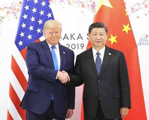 獨家視頻:習近平與特朗普進行會晤 中美元首同意重啟兩國經貿磋商
