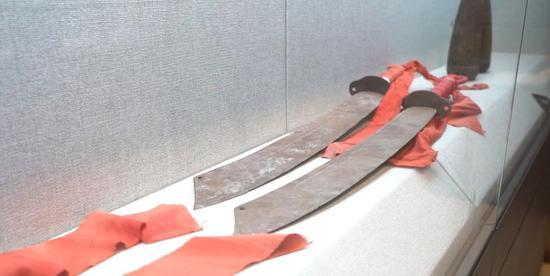 红军长征时期使用的马刀