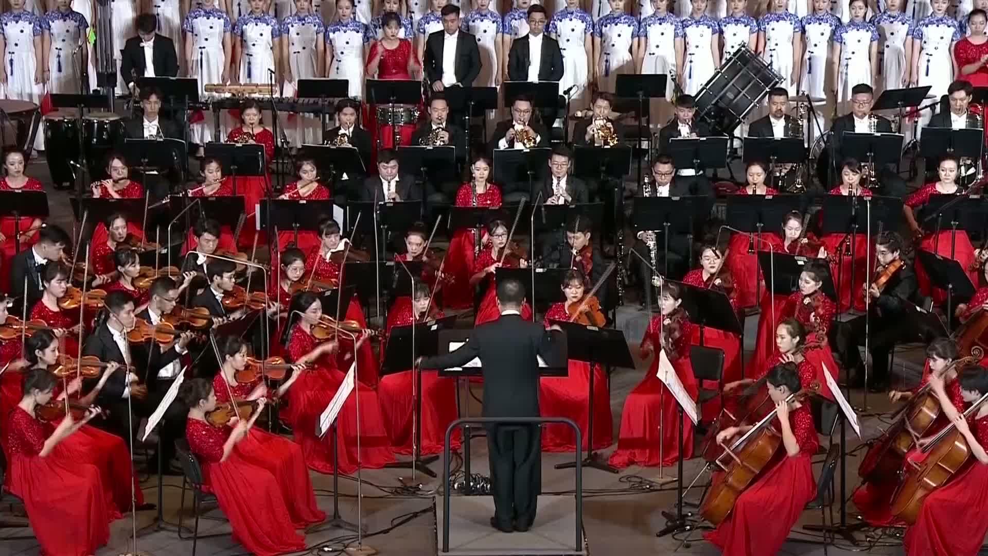 好听!交响乐团激情演绎广东民乐,祝福祖国!