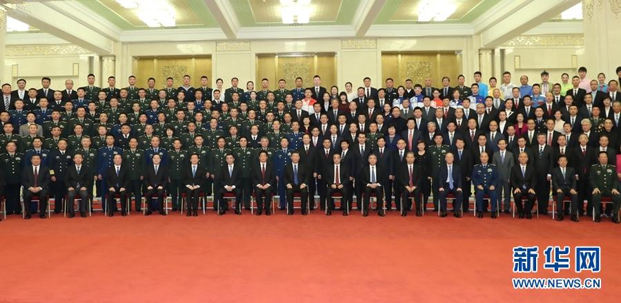 中华人民共和国成立70周年庆祝活动总结会议在京举行 习近平亲切会见庆祝活动筹办工作有关方面代表