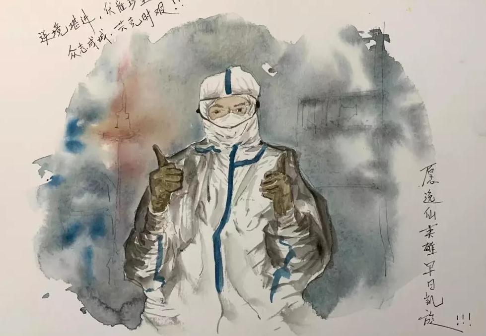 病人多、病情重——广东医护人员眼中的武汉汉口医院