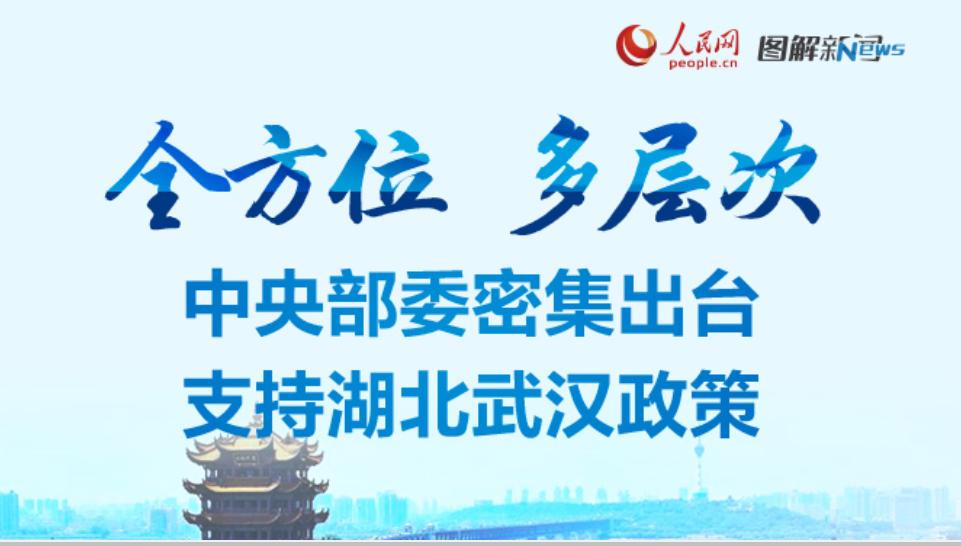 全方位 多层次 中央部委密集出台支持湖北武汉政策