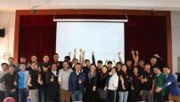 首支中国大学生代表队出征世界大学生自行车锦标赛