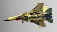 简氏:中国正试飞歼15电子战机 设计类似美军EA18G